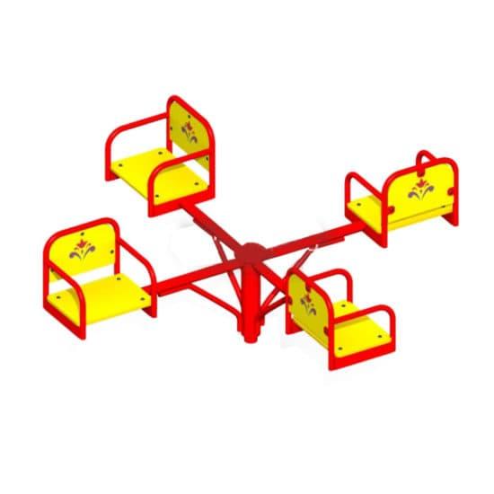 Карусель для детей Малыш - 1 СКИ 017