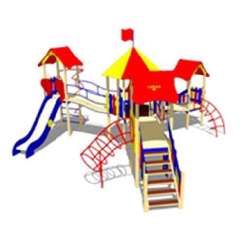 Детский Игровой комплекс ДК-18 СКИ 100 для площадки
