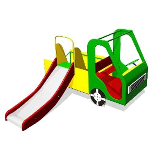 Детский Игровой макет Машинка СКИ 071 для площадки
