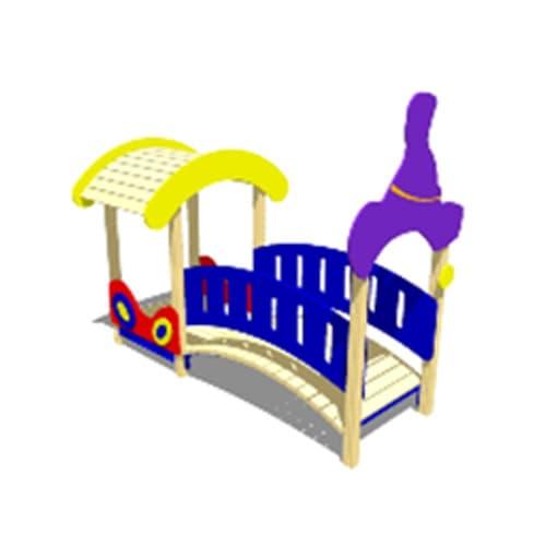 Мостик-переход М1 СКИ 056 для детской площадки