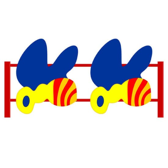 Ограждение для детской площадки Пчелка СКДО 8