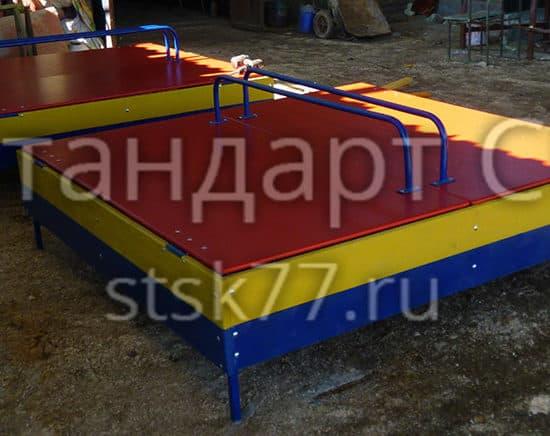 Детская песочница с крышкой СКИ 049