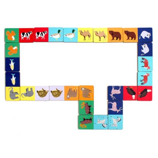 Развивающая игра Домино Животные ИГ0105