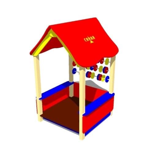 Домик детский Счеты СКИ 065 - купить в Москве