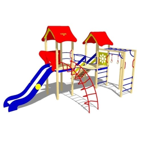 Детский Игровой комплекс ДК-17 СКИ 099 от Стандарт-СК
