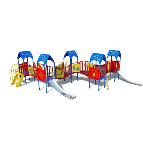 Купить игровой комплекс ДК-2 СКИ 084 для детской уличной площадки