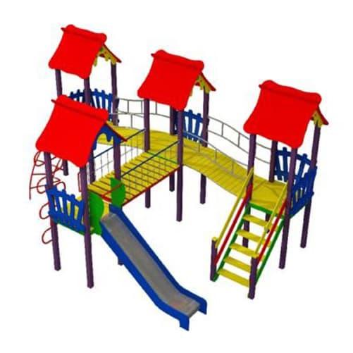 Детский уличный Игровой комплекс ДК-22 СКИ 104