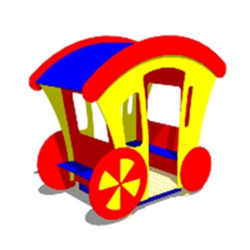Игровой макет Карета СКИ 060 для детской площадки