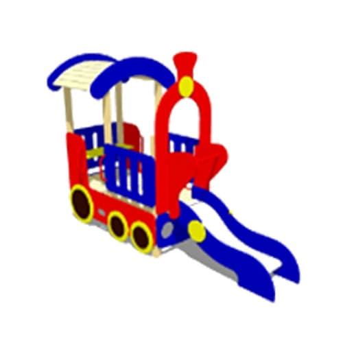 Игровой макет Паровоз СКИ 061