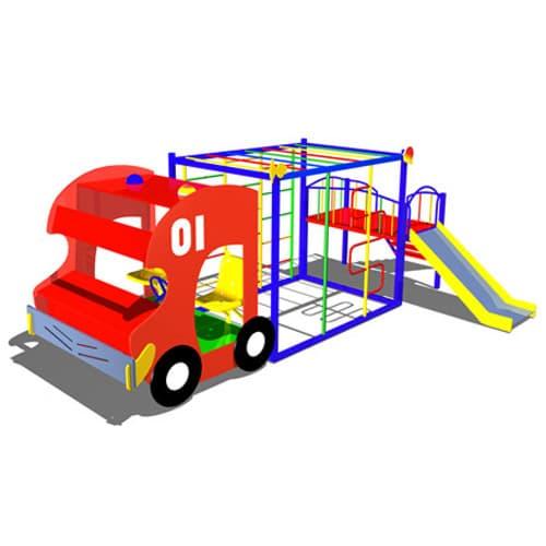 Детский Игровой макет Пожарная машина СКИ 070