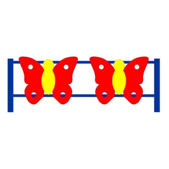 Ограждение Бабочка СКДО 1 для детской площадки
