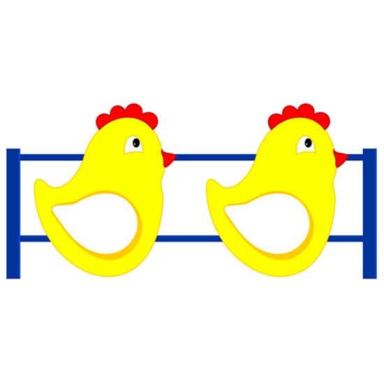 Ограждение Цыпленок СКДО 10 для детской площадки