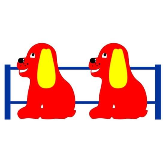 Ограждение для детской площадки Собачка СКДО 9