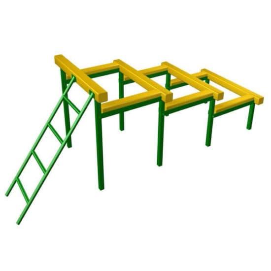 Препятствие Разрушенная лестница СКП 097