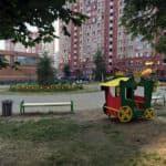 Детская уличная площадка