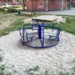 Площадка с каруселью