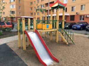 Уличная площадка для детей