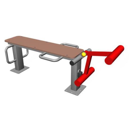 Уличный тренажер для мышц бедра СКТР 15